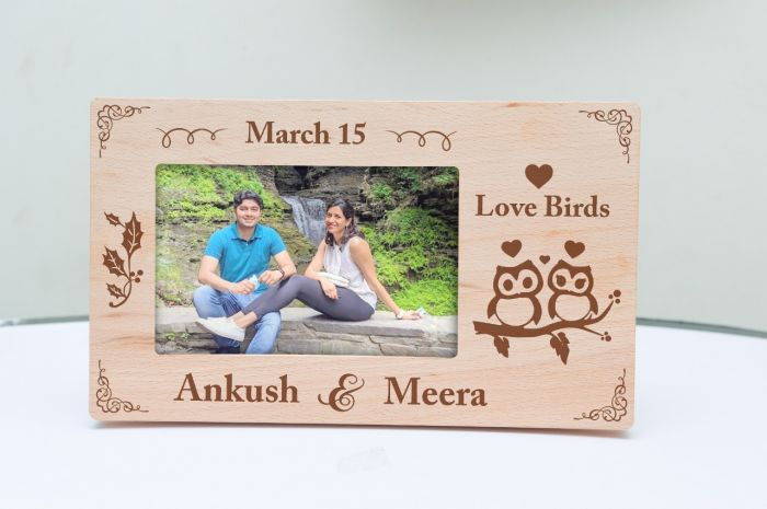 Engraved Frames for couples, valentines.