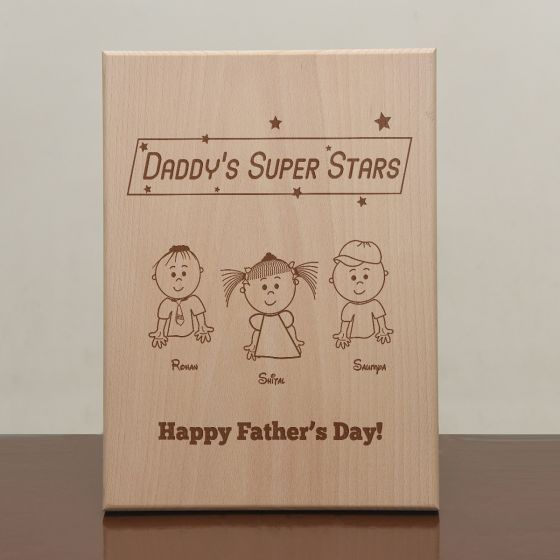 Engraved frames for father's day - Mumbai, Pune