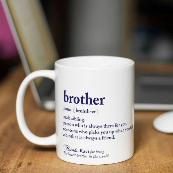 Mugs for Brother, Delhi, Jaipur, Gurgaon