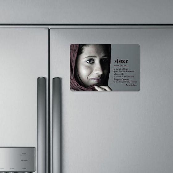 Photo magnets, sister, Hyderabad, Ahmedabad