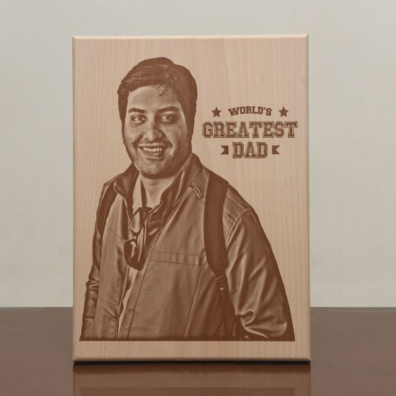 Plaques for father, wooden frames, pune, chandigarh