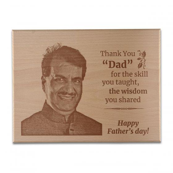 Wooden plaques for dad, frame, Delhi, Gurgaon
