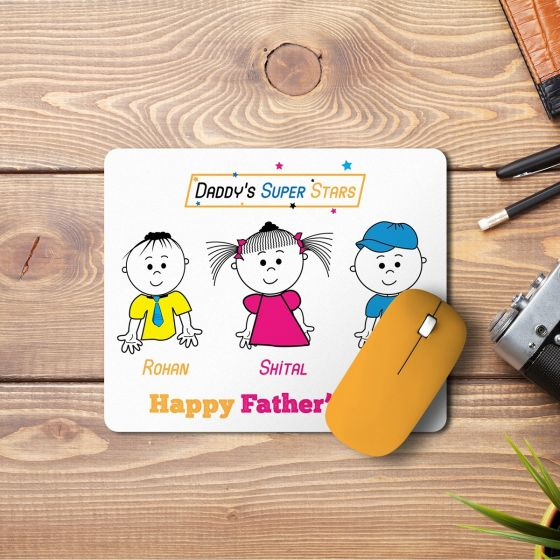 Personalized Mouse Pad For dad, Bengaluru, Chennai