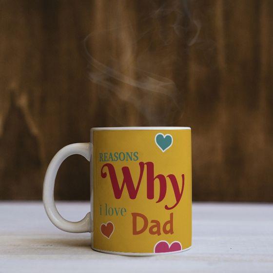 Customized mug for father- Bengaluru, Chennai, Hyderabad