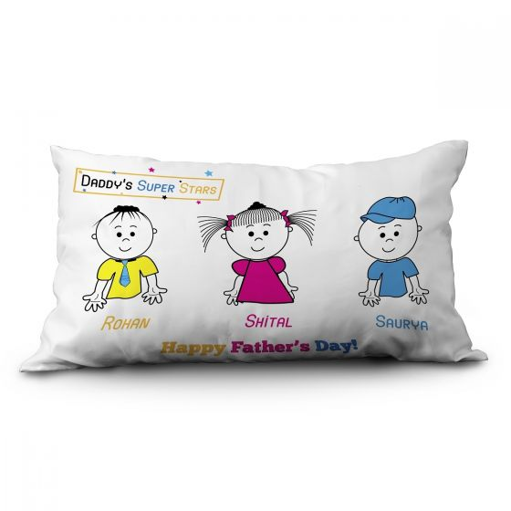 Print personalize pillow for father, Pune, Hyderabad