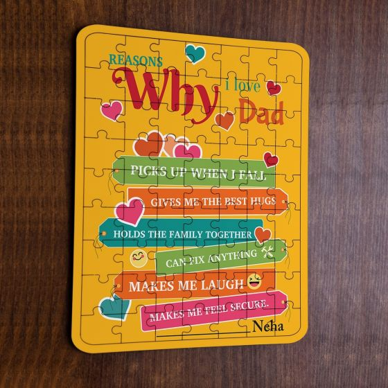 Puzzle for dad, grandfather, uncle, Mumbai, Pune