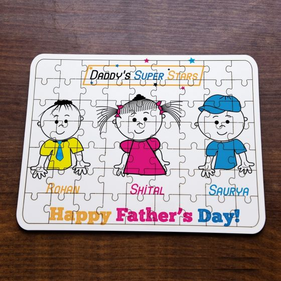 Jigsaw photo Puzzle for Father- Delhi, Gurgaon