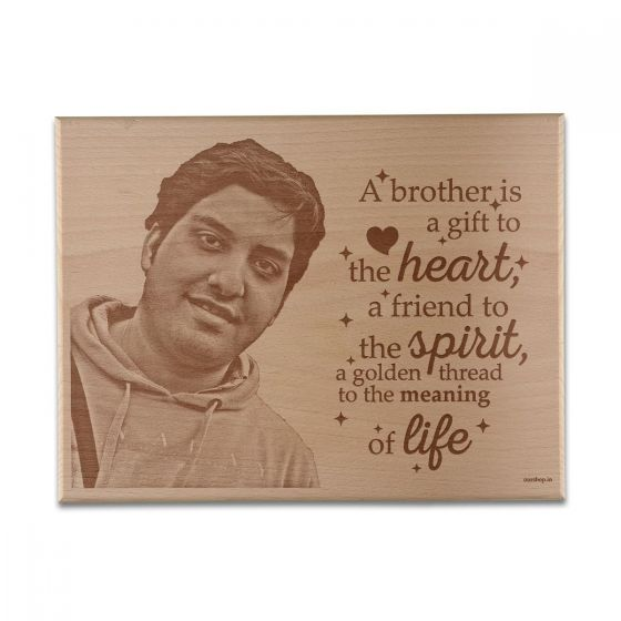 Plaque, frame for brother, Mumbai, Pune, Ahmedabad