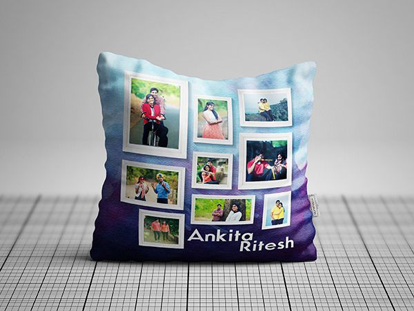 Photo collage cushions in Mysore