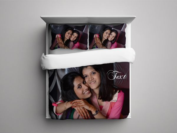 print a photo bed sheet in Delhi