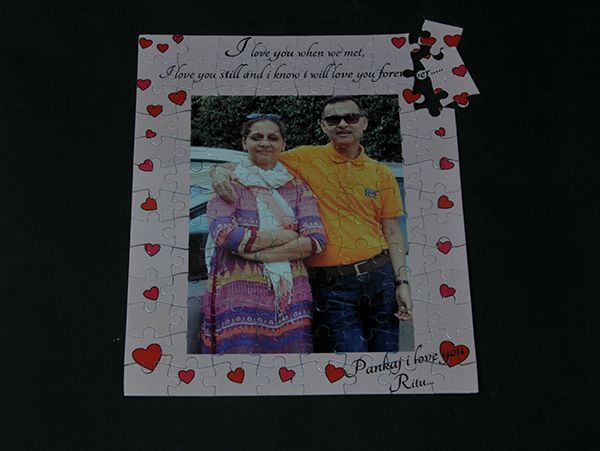Send custom made photo jigsaw puzzle, mumbai