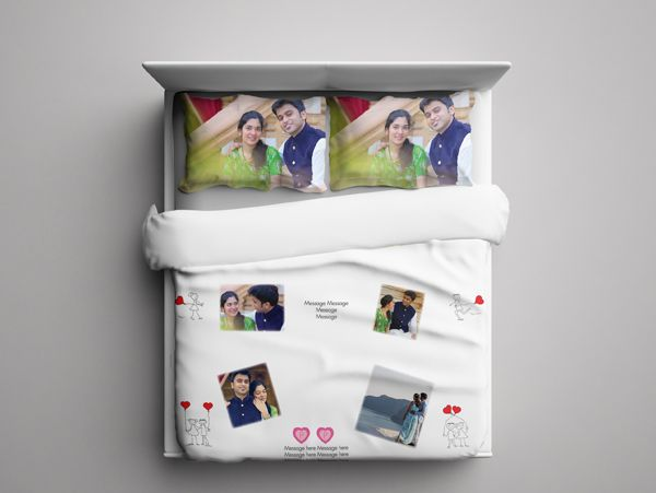 Print personalized photo bed sheet in Bengaluru