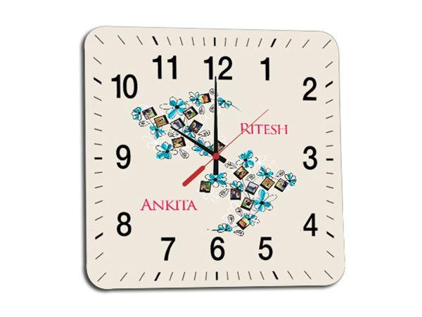 Customized Photo wall clocks Mumbai