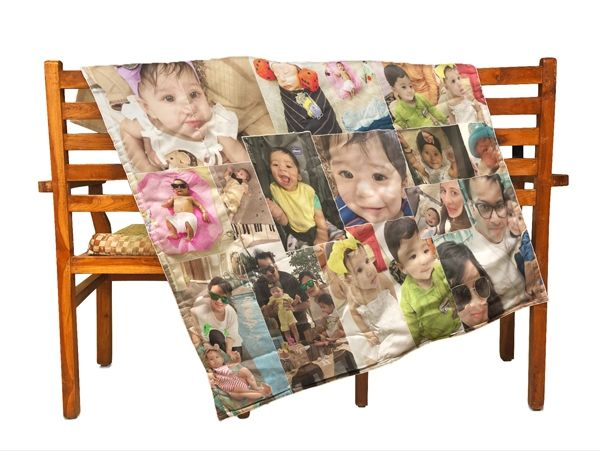 Personalized photo blankets for baby in Thane