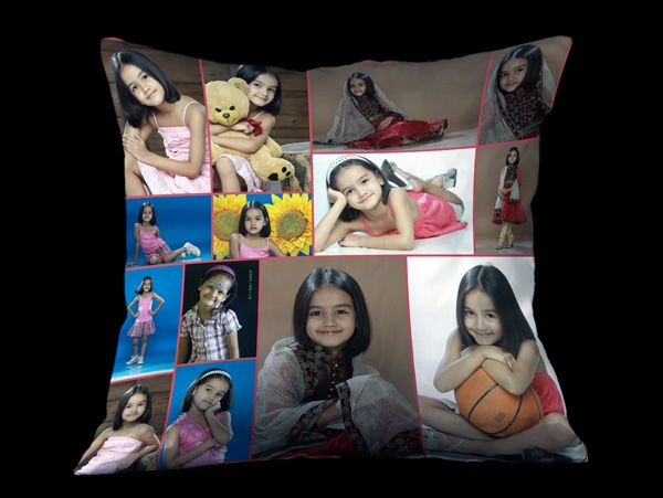 Personalized photo collage cushions in Bangalore and India