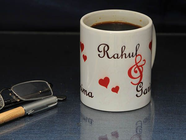 Personalized mugs for couple for anniversary