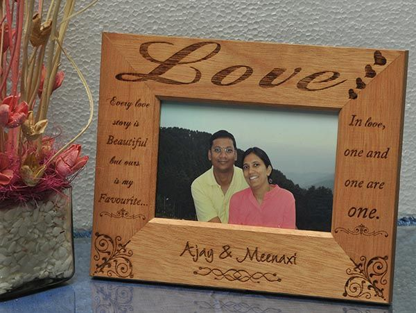 Custom made engraved gifts in Chennai