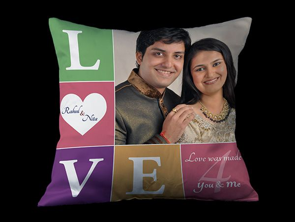 personalized photo cushion covers