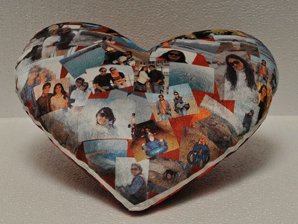 Heart shape cushion printing in mumbai, Navi Mumbai, Thane.
