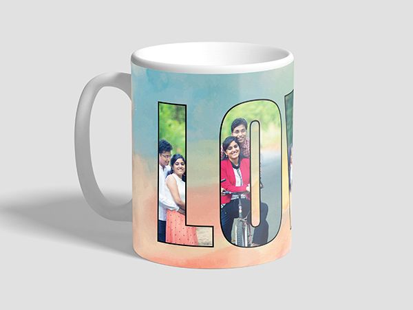 Personalized love photo mug Mumbai