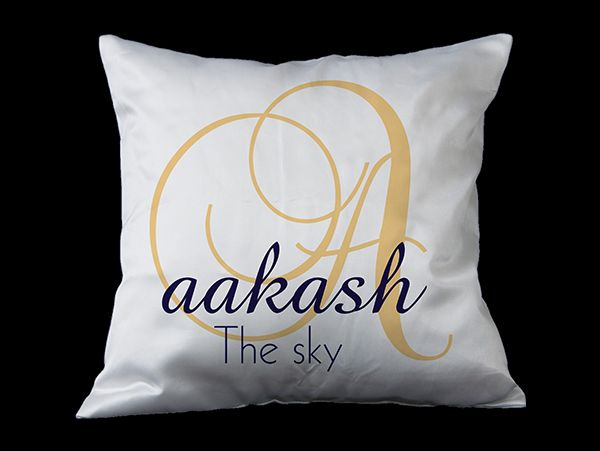 Personalized name cushions for kids in mumbai, India