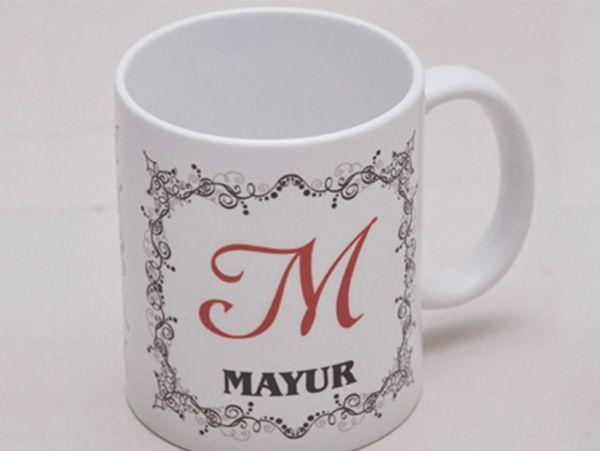 Initial & Name Mug