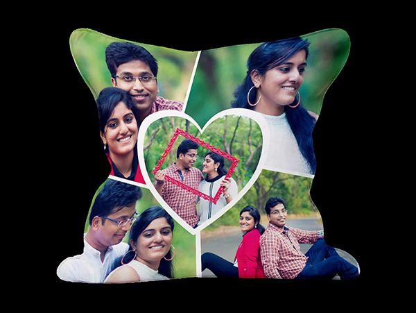 Valentines Photo pillows in Mumbai