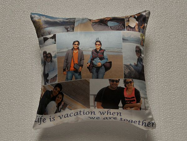Print personalized photo collage cushions in mumbai, India