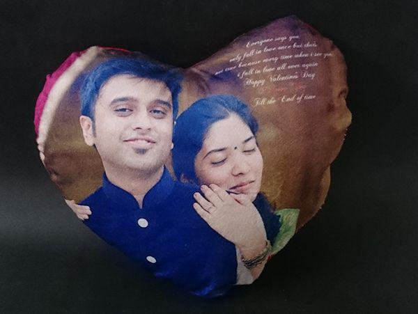Heart shape cushions printing- Hyderabad,Secundrabad,India