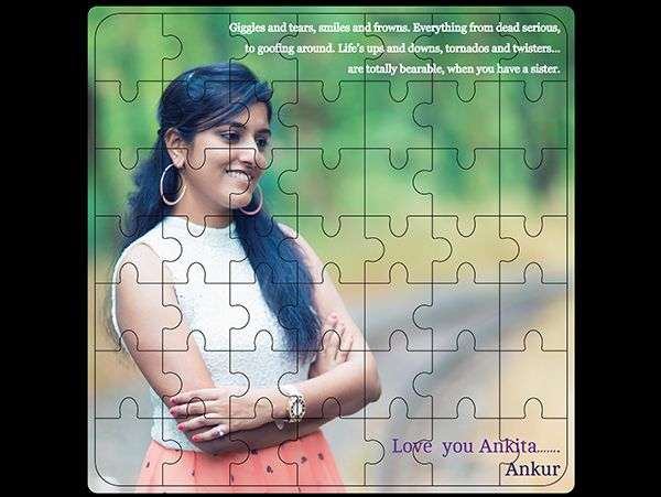 Photo jigsaw puzzles in India