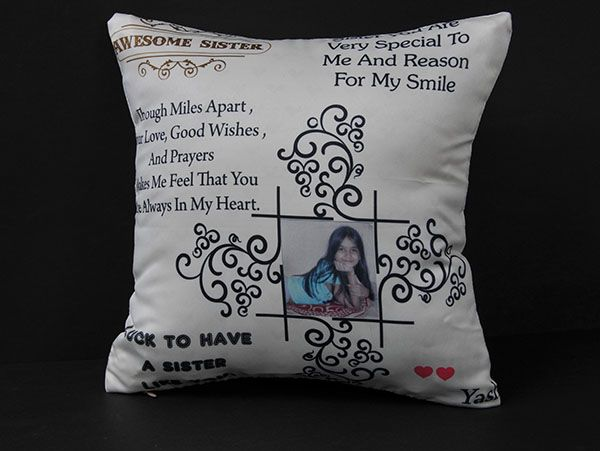 Quotes and pic pillow