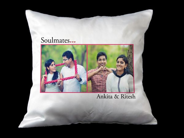 personalized photo pillows in India. Print, order online