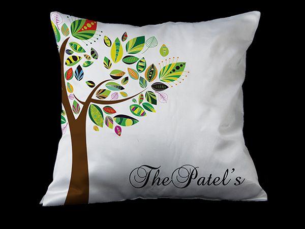 Personalized surname Cushions in Mumbai, Pune, India
