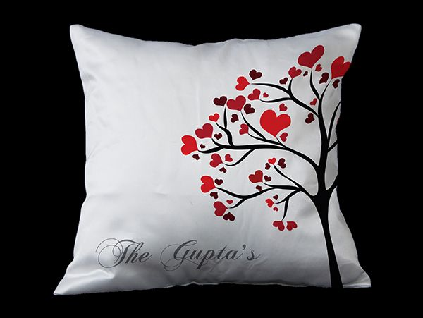 Personalized surname cushion in New Delhi,Gurgaon