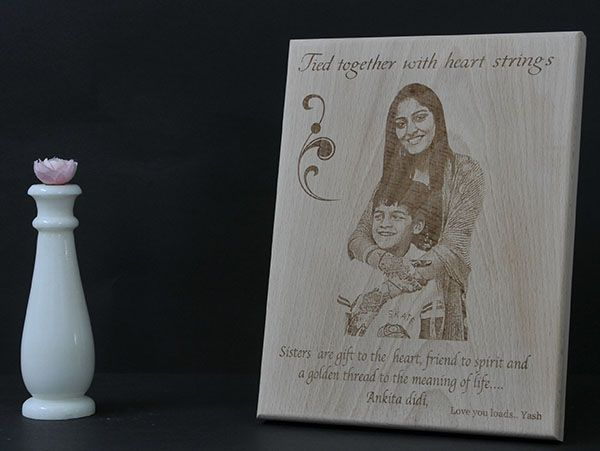 Engraved Plaques for brother and sister, Mumbai, Chennai