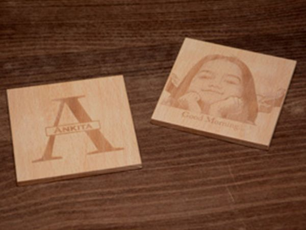 Monogram Coasters: (Engraved)