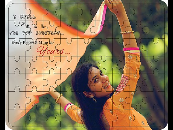 Personalized wooden jigsaw puzzle printing in Mumbai