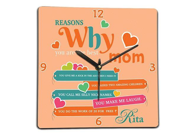 Clocks for mom, Chennai