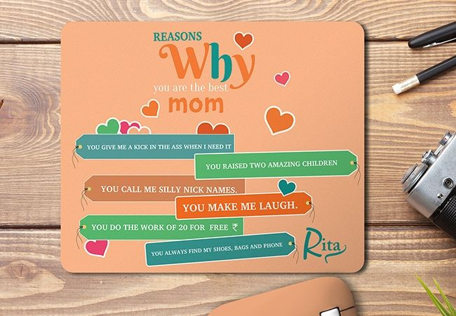 Personalized Mouse Pad For Mother, Bengaluru