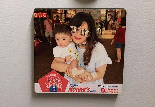 Gifts for Mom in Mumbai. Fridge Magnets