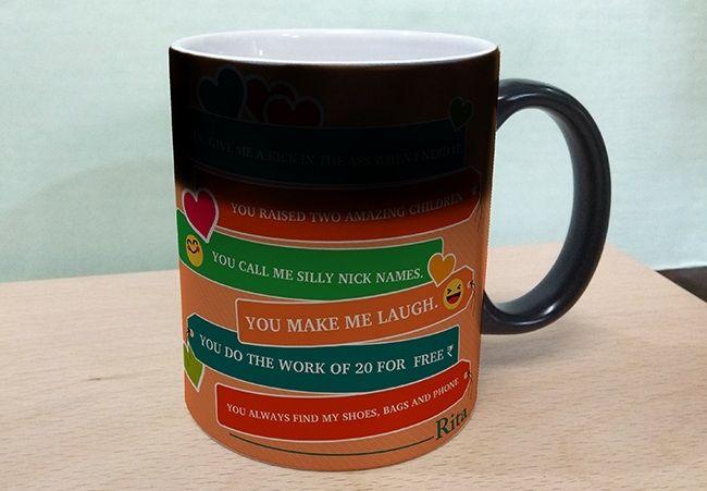 Black Magic Mug for Mom. Gurgaon