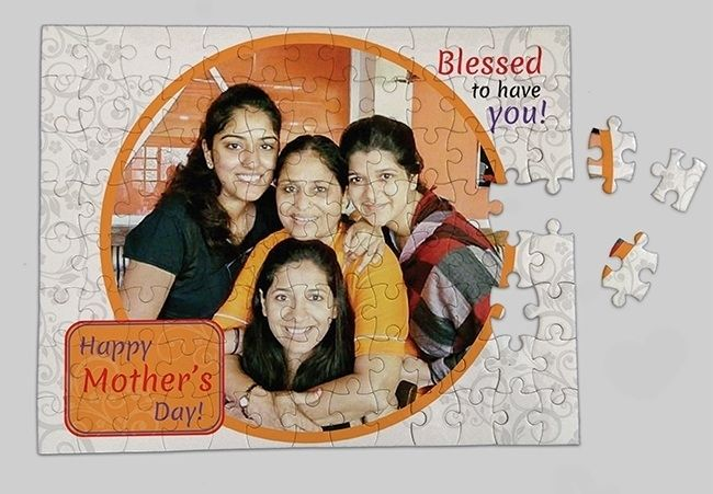 Customized jigsaw for mom, Mumbai