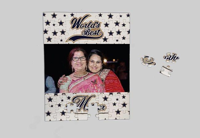 Customized jigsaw for Mom, Ahmedabad
