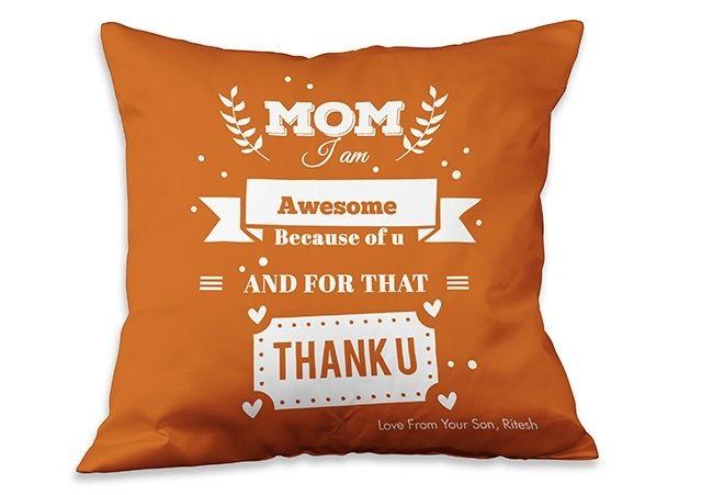 Humour Cushion for mother, Jaipur