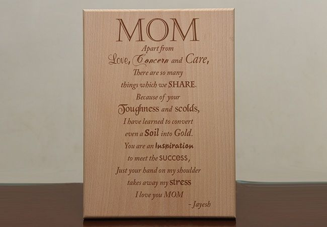 Wooden Plaques,Gifts for mother, Bengaluru
