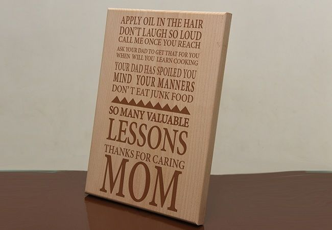 personalized plaques for her, for mother, Chennai