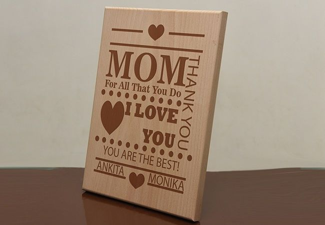 Wooden Plaques.Gifts For Mother, Delhi Gurgaon