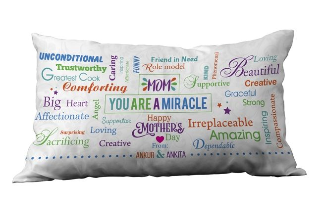 Personalized pillows for mother