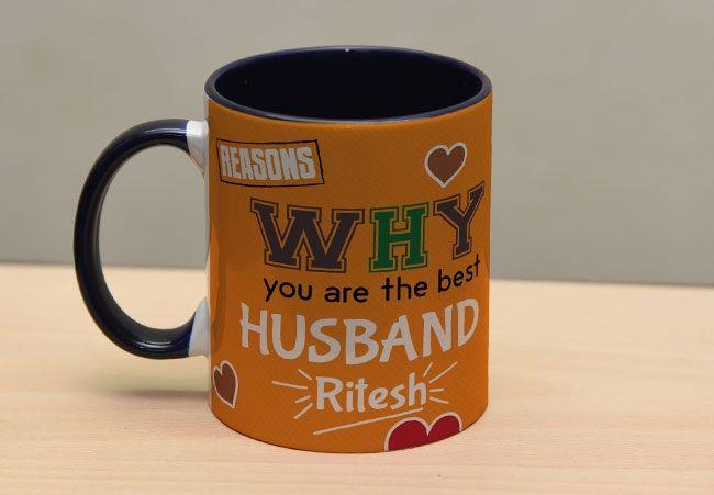 Valentine mugs for husband, Chennai