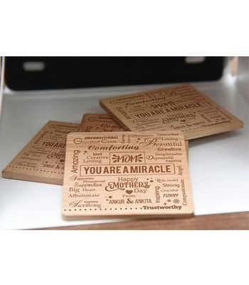 Engraved Coasters for Mom - Mumbai